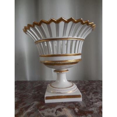 Sèvres Porcelain Table Center Cup 1848