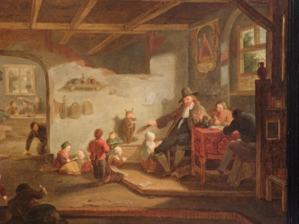 Tableau Jacques Albert Senave (1738-1823)