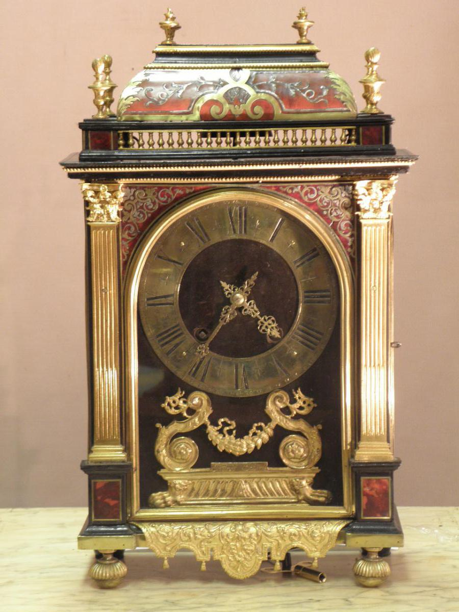 Pendulum Religious Inlaid In Tortoiseshell Red