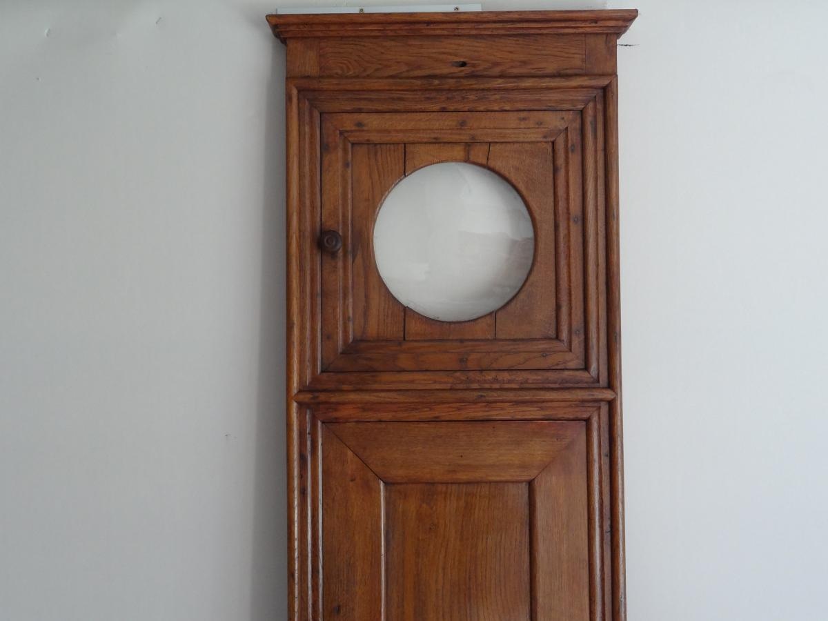 panneau de boiserie pour horloge murale 18 me si cle. Black Bedroom Furniture Sets. Home Design Ideas