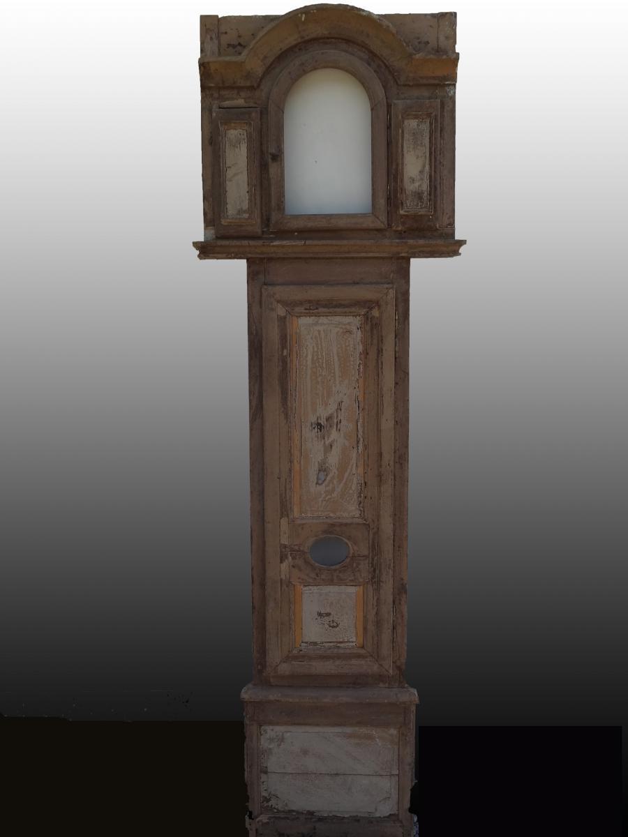 élément De Boiserie Avec Horloge Murale, 18ème Siècle