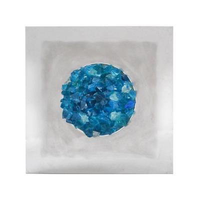 "Applique Angelo Brotto ""ocean Blue"" 1974, Espéria"