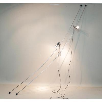 Paire De Lampes Molla De Cesare Leonardi Et Franca Stagi