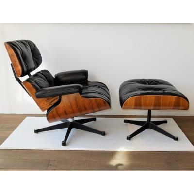 Lounge Chair Eames Palissandre, Mobilier International 1972