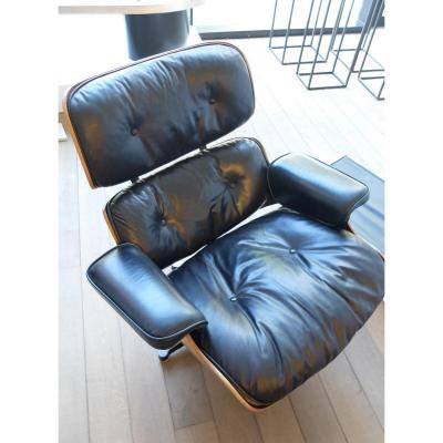 Lounge Chair Eames 1975, Mobilier International, Palissandre