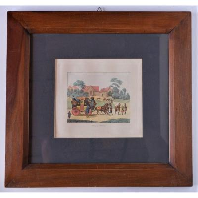 Ancienne Gravure Anglaise,