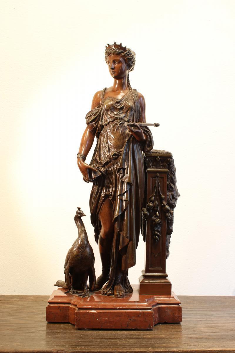 Sculpture en bronze de Peiffer