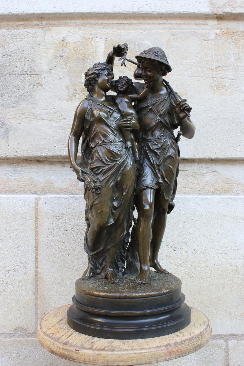 Sculpture en bronze de Rancoulet