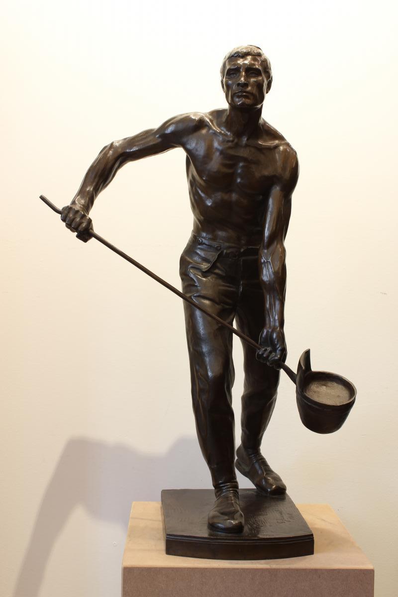 Grande sculpture en bronze