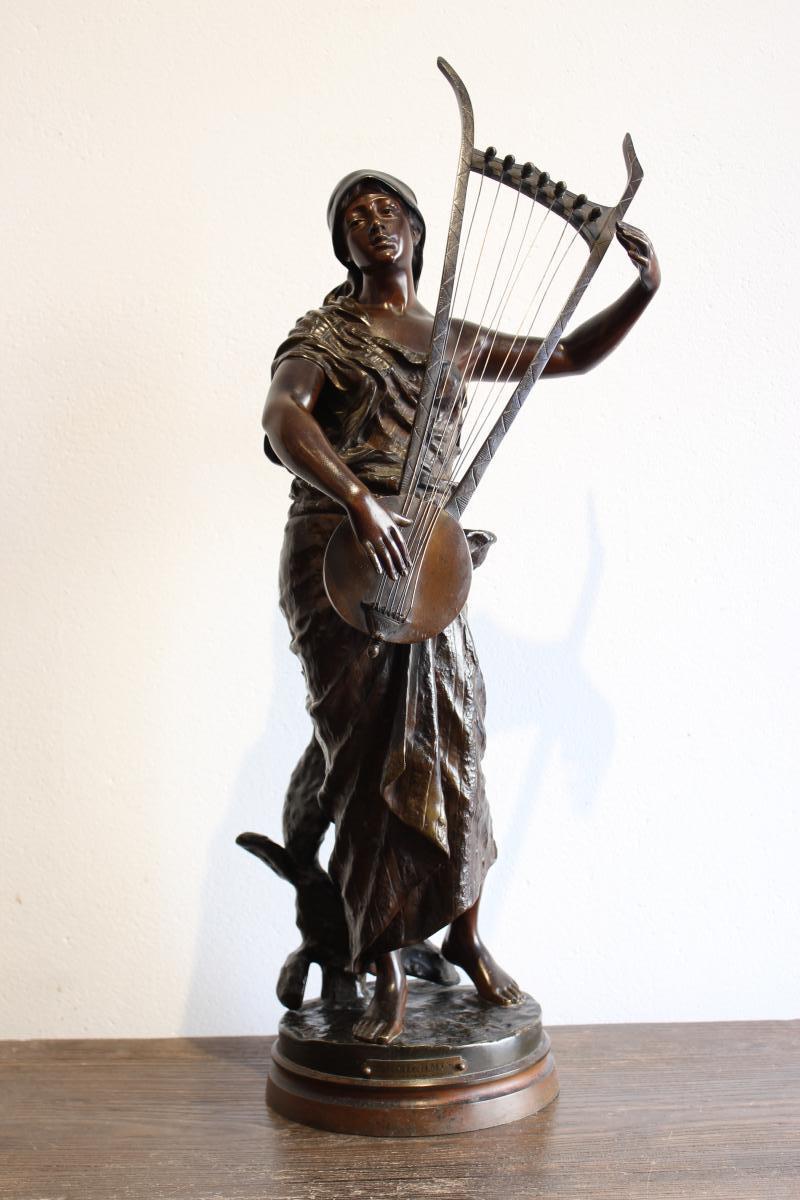 """Sculpture en bronze   """" Sémiramis """""""