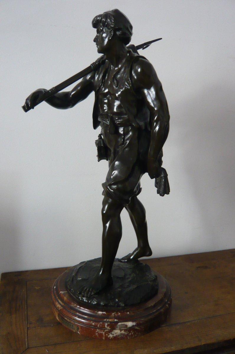 Grande Sculpture De Picault