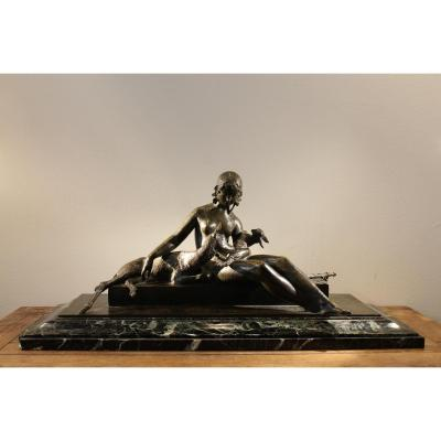 Sculpture en bronze de Ary Bitter