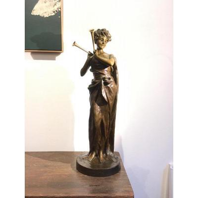 Bronze Sculpture Of Van Der Straten