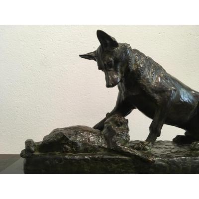 Bronze de Louis Riché