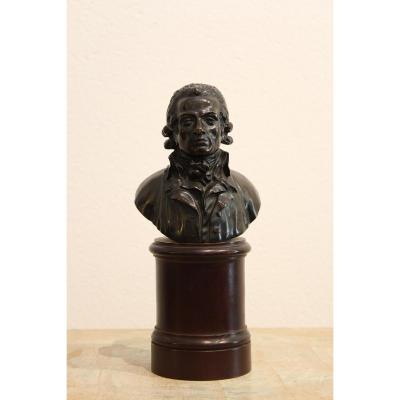 Petit Buste En Bronze