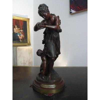 """Sculpture """" Le printemps de la vie """" de Lanzirotti"""