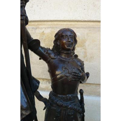 Sculpture En Bronze Jeanne d'Arc