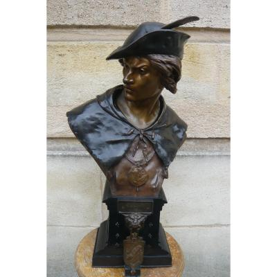Sculpture En Bronze De Picault