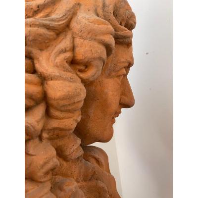 Sculpture représentant Pierre Paul Riquet
