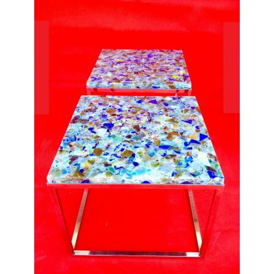 "Table basse dite ""FUSION"""