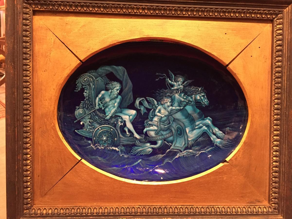 """Email De Limoges,signé Blanchez,fin XIXème, """"char De Neptune"""""""