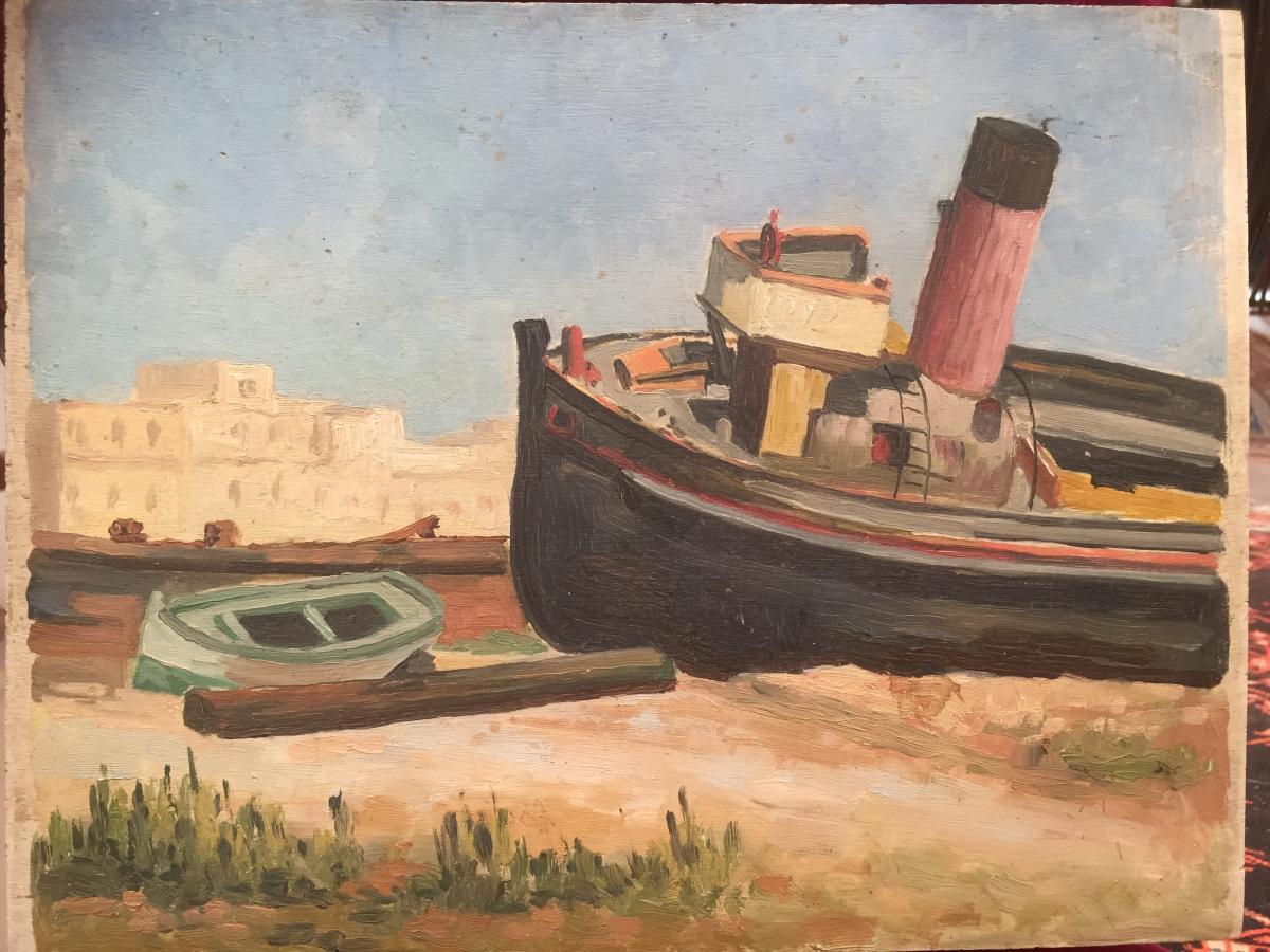 "Jean Degeilh ""la Goulette"" Tunisie 1939"
