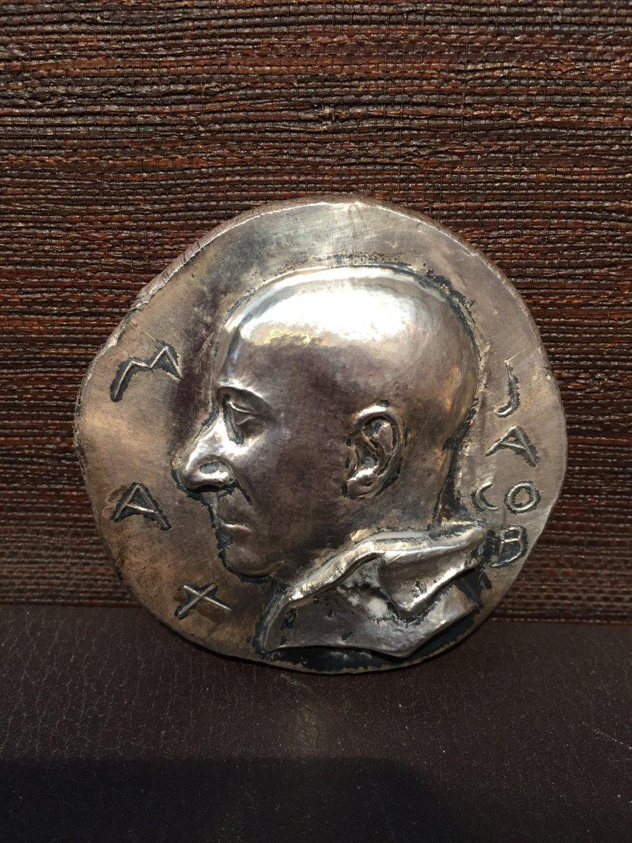Max Jacob, Médaille Par René Iché,1949