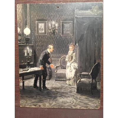 Probablement Un épisode De l'Affaire Madame Henriette Caillaux
