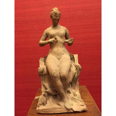Jacques Labatut, Terracotta Original, Late 19th
