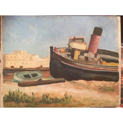 "Jean Degeilh ""the Goulette"" Tunisia 1939"
