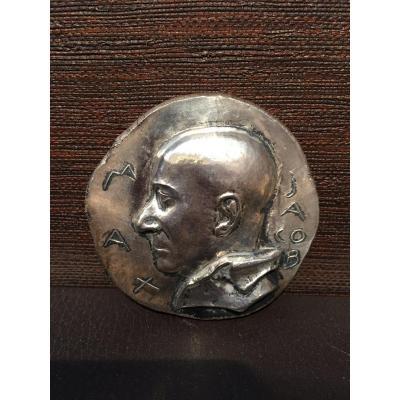 Max Jacob, Medal By René Iché, 1949