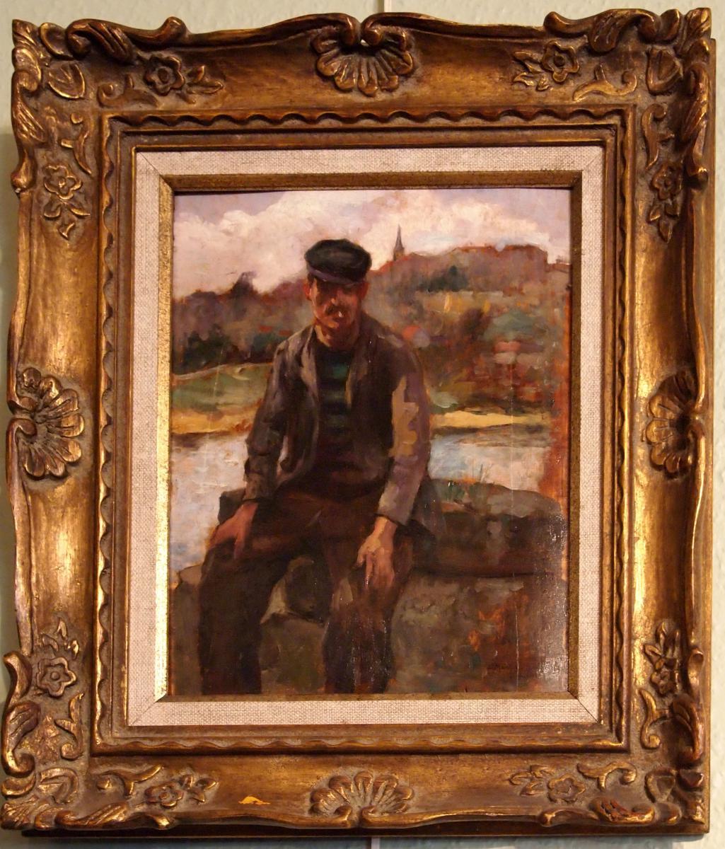 Portrait d'Homme Par L. Martin