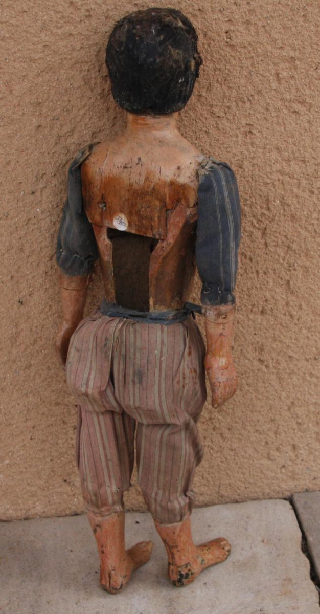 An 18th Century Wooden Marionette - Circus Art