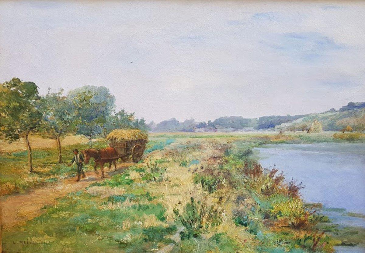 Landscape By Léon-auguste Mellé-photo-2