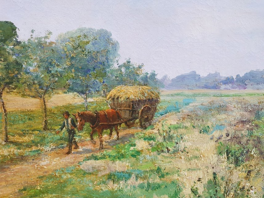 Landscape By Léon-auguste Mellé-photo-3