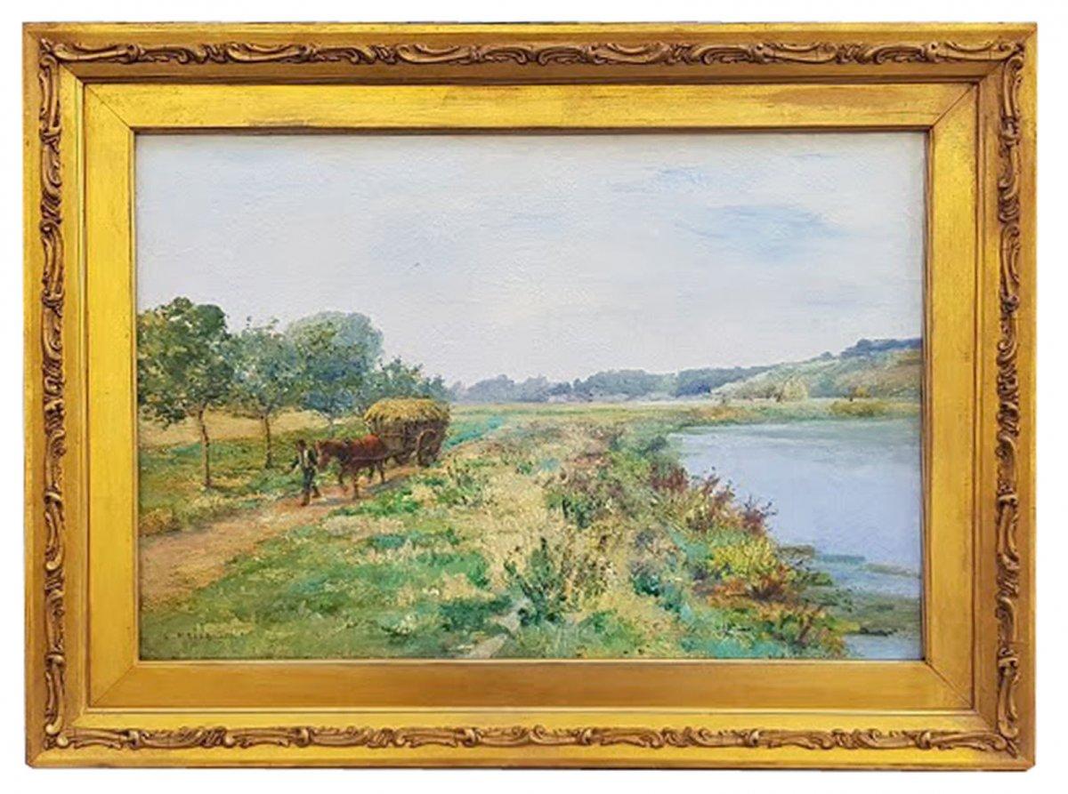 Landscape By Léon-auguste Mellé