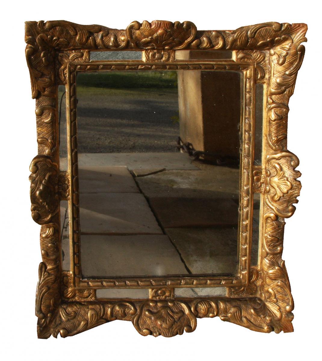 Un Miroir à Pareclose époque 18e Siècle