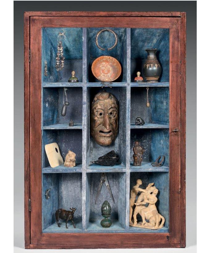 Cabinet De Curiosuté  «hommage à Nicolas Landau» Par Axel Vervoordt