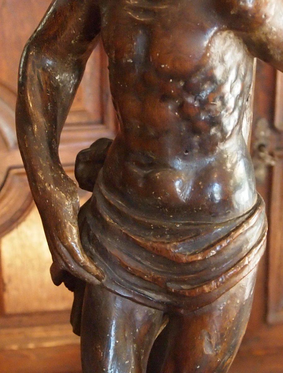 Un Saint-sébastien  Début XVIIIème Siècle-photo-3