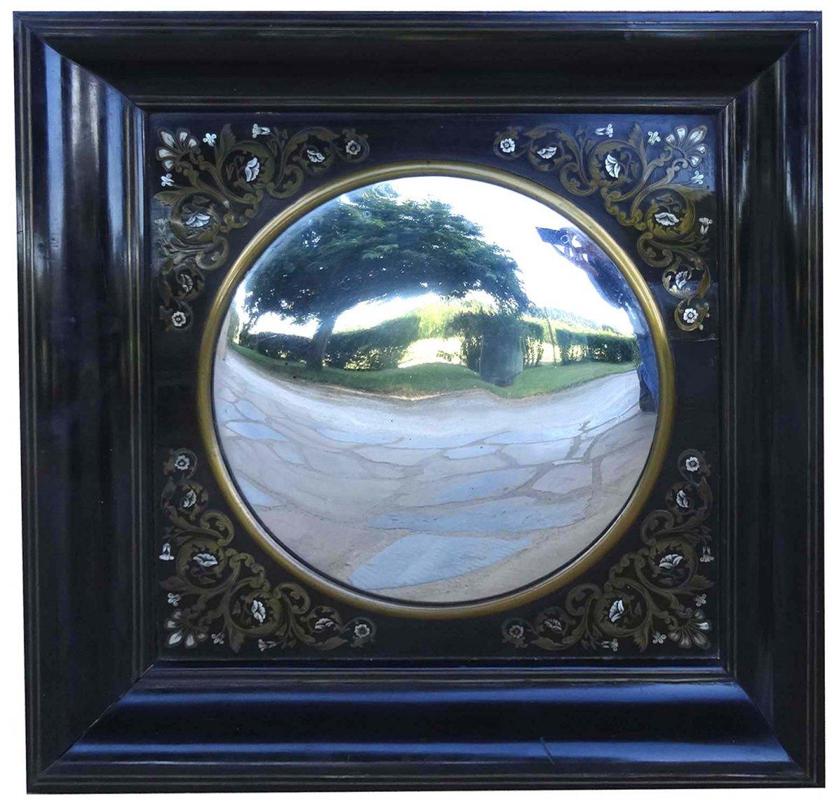 Napoleon III Boulle Marquetry Mirror
