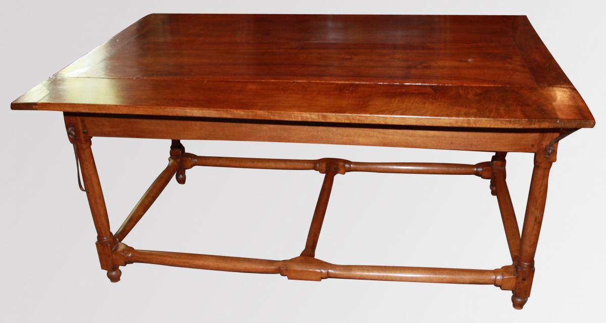 Grande Table à Volets époque Louis XIII