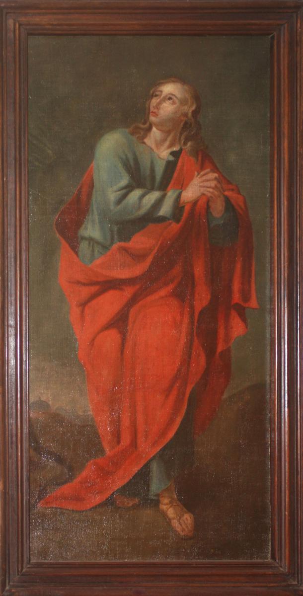 Saint En Manteau Rouge, XVIIe Siècle