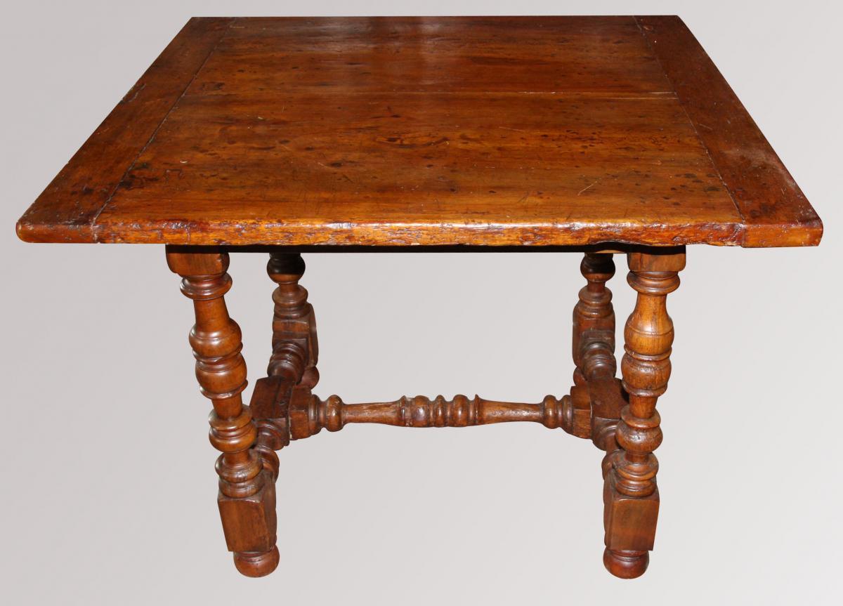 Table Louis XIII-louis XIV