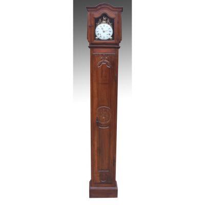 Horloge De Parquet, XVIIIe Siècle