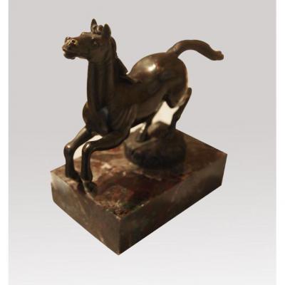 Petit Cheval Cabré Début XIXème Siècle