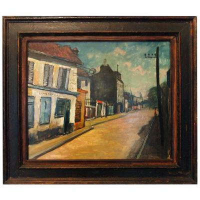 Village Street By Louis Lallemand