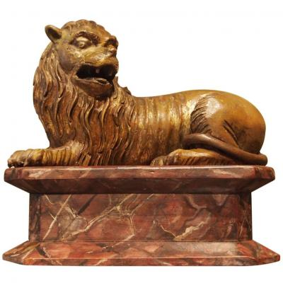 Lion Wood, Germany, Late Seventeenth And Early Eighteenth Century