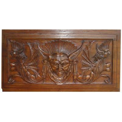 Walnut Panel, The First Renaissance Era