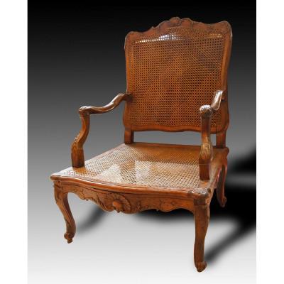 Antique Armchair Regency Stamped Lelarge