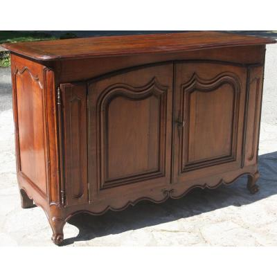 Nice Dresser Opening With Two Doors, Walnut, Louis XV Style, South-west France